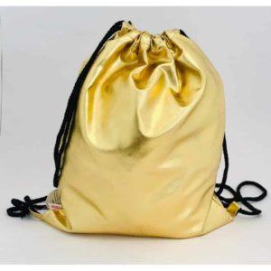 תיק גב חוטים זהב מטאלי LOOPY