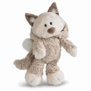 """בובת חתול שלג אפור פרוותי (20 – 35 ס""""מ) ניקי NICI"""