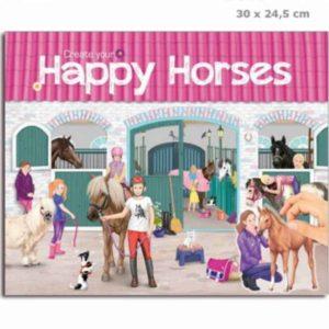 חוברת טופמודל עיצוב אורוות סוסים