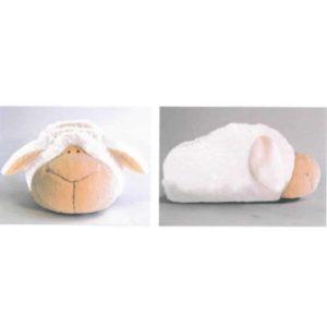 נעלי בית ניקי NICI כבשה לבנה – 34-37