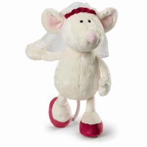 """בובת עכברה כלה (25 – 35 ס""""מ) NICI"""