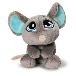"""בובת עכבר אפור שוכב (25 – 50 ס""""מ) NICI"""