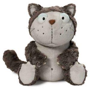 """בובת חתול עצלן אפור (25 – 45 ס""""מ) NICI"""