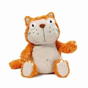 """בובת חתול ג'ינג'י (25 – 45 ס""""מ) NICI"""