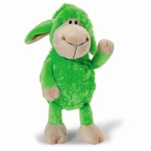 """בובת כבשה ירוקה (כ-20 ס""""מ) NICI"""