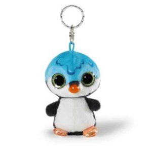מחזיק מפתחות ניקי NICIdoos פינגווין סירופ כחול